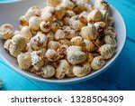 a bunch of popcorn | Shutterstock . vector #1328504309