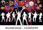 disco night | Shutterstock . vector #13285249
