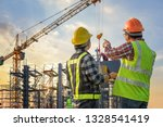 construction engineer... | Shutterstock . vector #1328541419