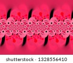 a hand drawing pattern made of... | Shutterstock . vector #1328556410