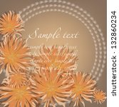 abstract greeting card or... | Shutterstock .eps vector #132860234