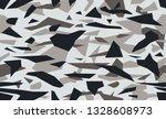 triangular camouflage pattern... | Shutterstock .eps vector #1328608973