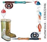 Watercolor New Sketch Fishing...