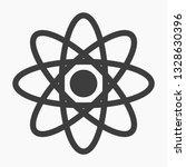 atom vector icon | Shutterstock .eps vector #1328630396