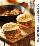 sloppy joe sandwiches freshly... | Shutterstock . vector #1328683520