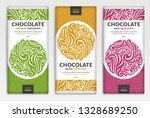 colorful packaging design of... | Shutterstock .eps vector #1328689250
