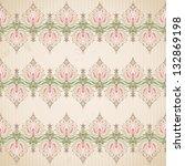 vector seamless background.... | Shutterstock .eps vector #132869198