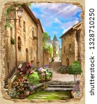 Beautiful View From Ruined Stone - Fine Art prints