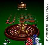 casino advertising design with...   Shutterstock .eps vector #1328744270
