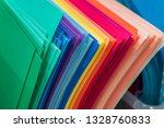 an assortment of multicolored... | Shutterstock . vector #1328760833