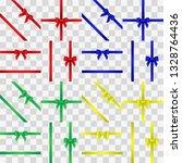 ribbon color set. vector...   Shutterstock .eps vector #1328764436