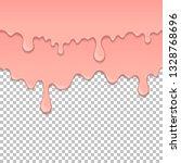 pink sticky liquid element.... | Shutterstock .eps vector #1328768696