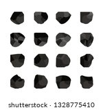 collection of charcoal coal 2 | Shutterstock .eps vector #1328775410