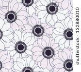 seamless floral pattern | Shutterstock .eps vector #132880010