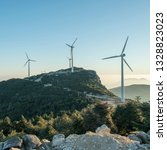 windmill mountain power plant   Shutterstock . vector #1328823023