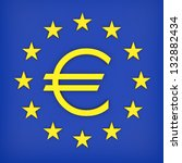 euro | Shutterstock . vector #132882434