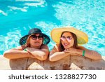 senior woman relaxing with her... | Shutterstock . vector #1328827730