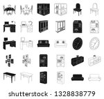 furniture and interior black... | Shutterstock .eps vector #1328838779