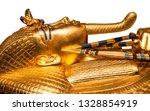Isolated Golden Egyptian...