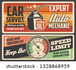 car service on engine and gear... | Shutterstock .eps vector #1328868959