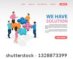 business consulting and...   Shutterstock .eps vector #1328873399