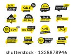 sale tags collection. special... | Shutterstock .eps vector #1328878946