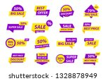 sale tags collection. special... | Shutterstock .eps vector #1328878949