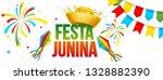 festa junina   june party.... | Shutterstock . vector #1328882390