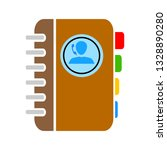 phone book icon   phone book...   Shutterstock .eps vector #1328890280