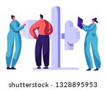 man character check xray...   Shutterstock .eps vector #1328895953