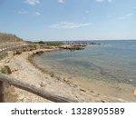 coastal reserve vendicari...   Shutterstock . vector #1328905589