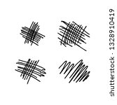 vector collection of hand drawn ... | Shutterstock .eps vector #1328910419