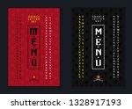 vector handwritten display font.... | Shutterstock .eps vector #1328917193