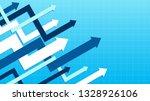 abstract financial chart arrows ... | Shutterstock .eps vector #1328926106