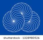 infinity symbol of interlaced... | Shutterstock .eps vector #1328980526