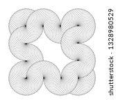 infinity symbol of interlaced... | Shutterstock .eps vector #1328980529