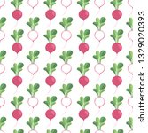 vector seamless vegetable...   Shutterstock .eps vector #1329020393