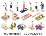 human circadian rhythms... | Shutterstock .eps vector #1329032963