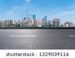 panoramic skyline and modern...   Shutterstock . vector #1329039116