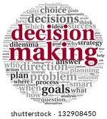Decision Making Concept In Tag...