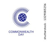 Commonwealth Day. Commonwealth of Nations flag. Flat vector stock illustration.