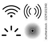 Signal Icons Vector Set...