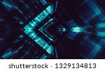abstract background. futuristic ... | Shutterstock . vector #1329134813