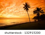 exotic  beautiful and secluded... | Shutterstock . vector #132915200