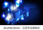 futuristic background concept...   Shutterstock .eps vector #1329168860