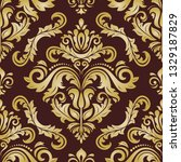 classic seamless vector pattern....   Shutterstock .eps vector #1329187829