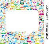 communication concept | Shutterstock .eps vector #132919844