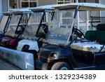 club cars for rent. catalina... | Shutterstock . vector #1329234389