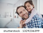 close up portrait of his he her ... | Shutterstock . vector #1329236399