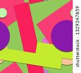 flat material design   creative ... | Shutterstock .eps vector #1329247859